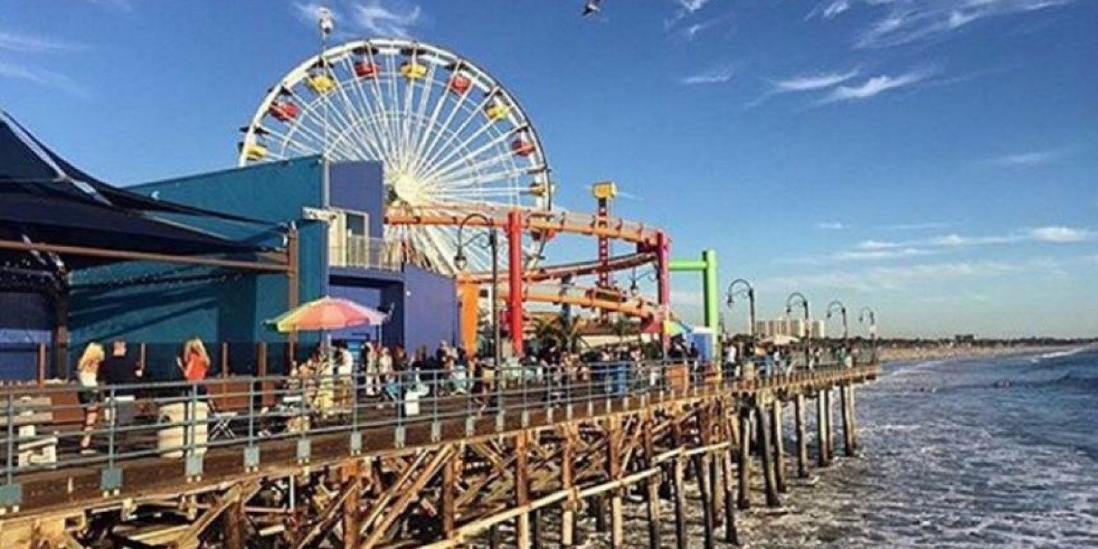 Puerto de Santa Mónica en Los Ángeles, California, Estados Unidos. Foto:vía instagram.com/veebiajakirifemme