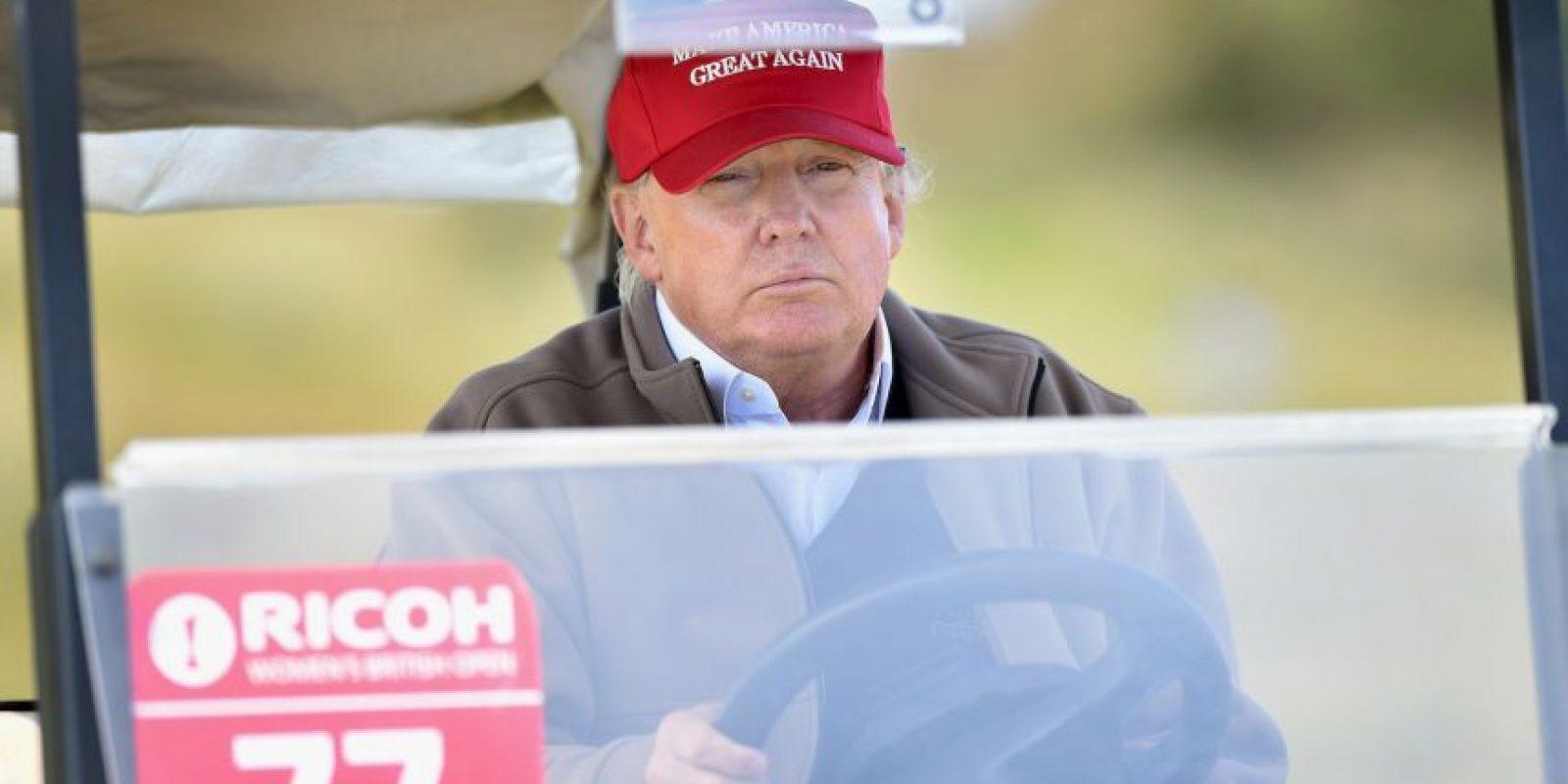 Por otra parte, Ted Cruz y Ben Carson resultaron empatados en el tercer lugar con un 16% cada uno. Foto:Getty Images