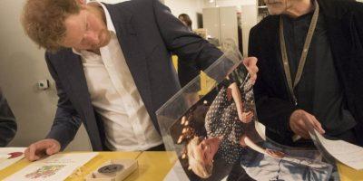 Incluida la foto de su madre con el expresidente. Foto:Getty Images
