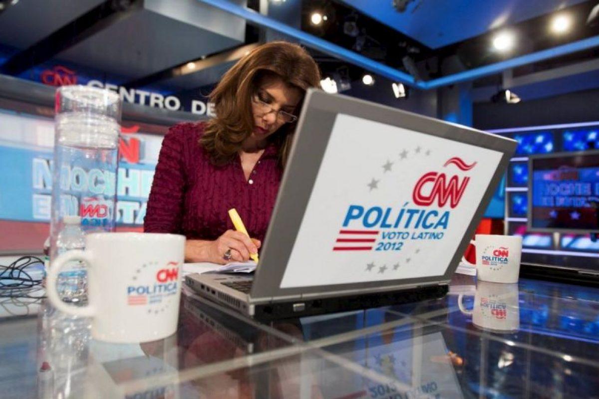 Antes de dedicarse al periodismo, fue modelo. Foto:Vía facebook.com/PatriciaJaniotCNN