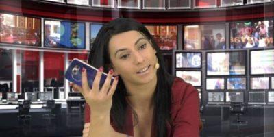 Enki aceptó y fue despedida del noticiero. Foto:Vía Facebook.com/enki.bracaj