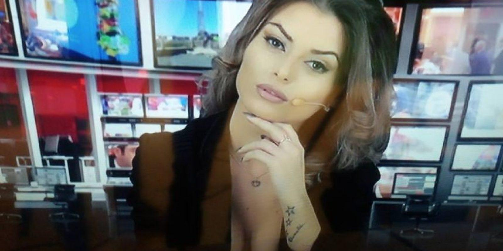 También es muy sensual. Foto:Vía Facebook.com/greta.hoxha.20
