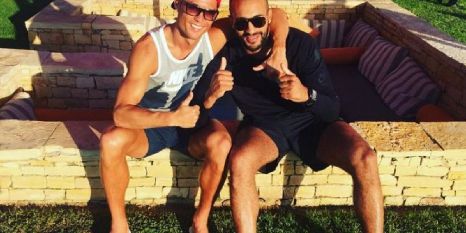 Aseguran que Cristiano y Badr Hari son más que amigos Foto:Vía instagram.com/badrhari
