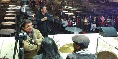 Músico nacional denuncia maltrato de los organizadores del show de Marc Anthony