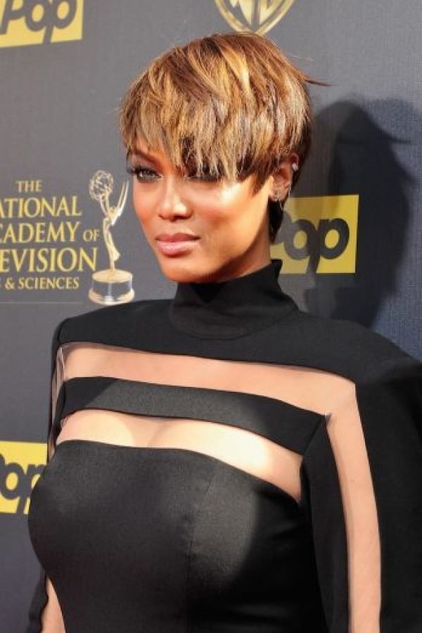 """Y más tarde estrenó su talk show """"The Tyra Banks Show"""" Foto:Getty Images"""