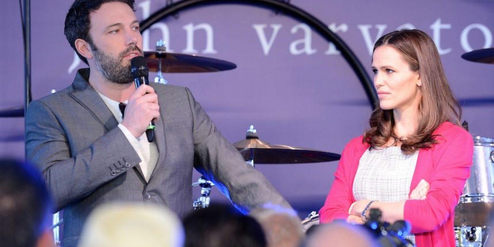 Luego de la gran polémica, los actores no se separaron, ni dejaron de usar sus anillos de matrimonio. Foto:Getty Images