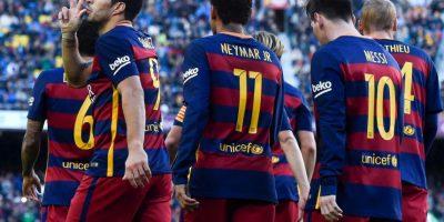 Suman tres puntos más que Atlético de Madrid Foto:Getty Images