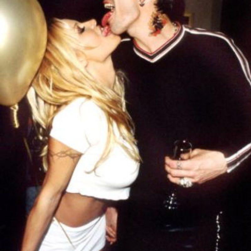 """Fue conocida por andar con Brett Michaels, de """"Poison"""". Pero en esas épocas comenzó también con el rockero Tommy Lee, con quien tuvo dos hijos. Foto:vía Getty Images"""