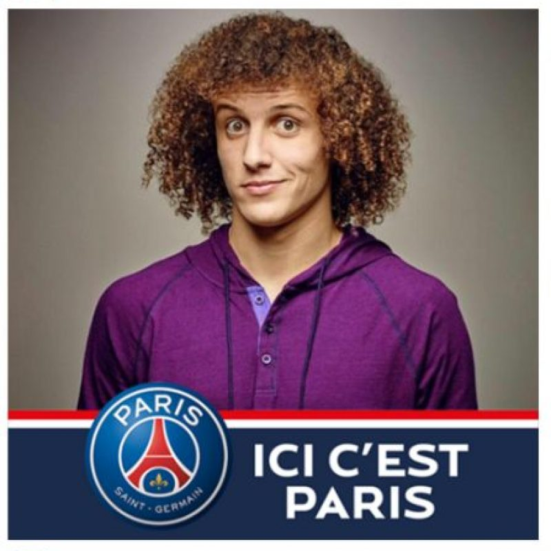 Y David Luiz hizo lo mismo y le lanzó la invitación a sus seguidores. Foto:Vía facebook.com/DavidLuizOfficial