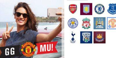 Por la Premier League aparecen Arsenal, Aston Villa, Chelsea, Everton, Leicester City, Liverpool, Manchester City, Manchester United, Tottenham, West Bromwich y West Ham United. Foto:Facebook