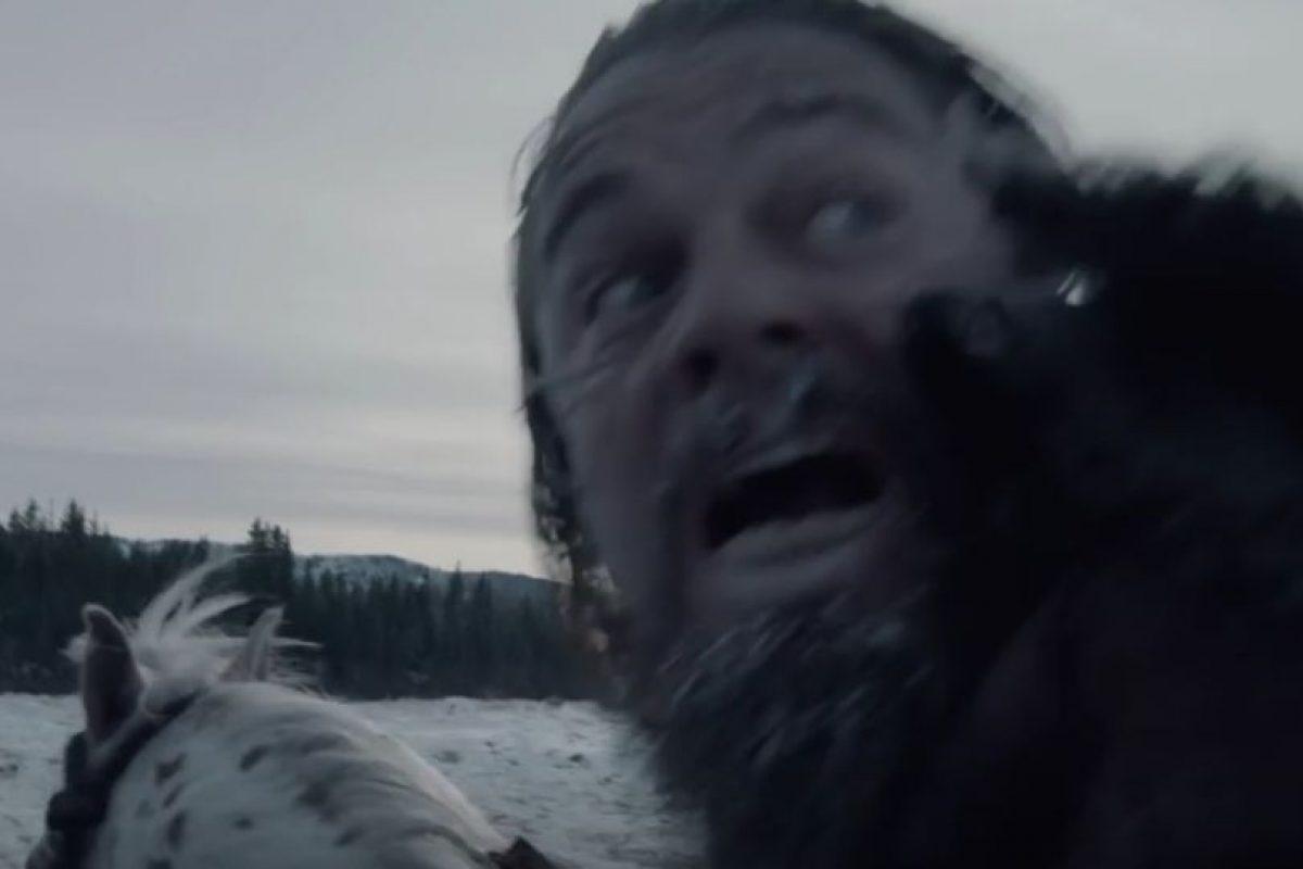 2. Leonardo DiCaprio maltratado y violado por un oso Foto:Vía Youtube