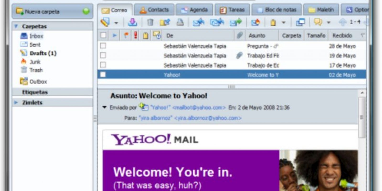 Yahoo! Mail Foto:Yahoo! Mail