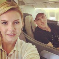 Está casada desde hace dos años con Dion Phaneuf, jugador de la NFL. Foto:vía Instagram