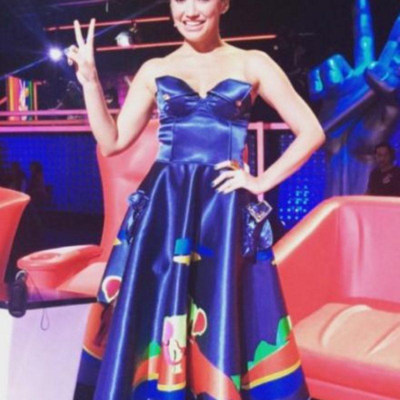 Es una actriz, cantante y modelo colombiana. Foto:Twitter