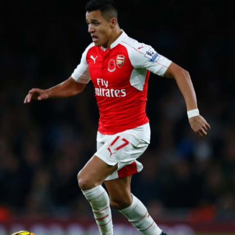6. Alexis Sánchez. Foto: Getty Images