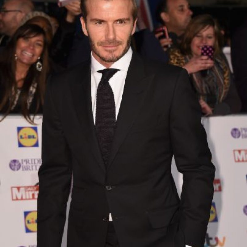2. David Beckham. Foto: Getty Images