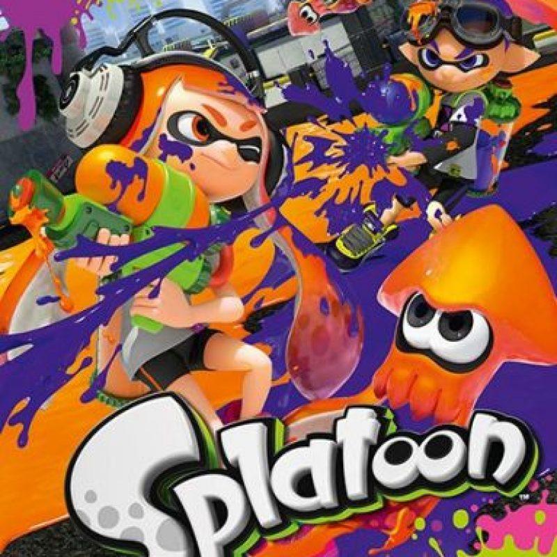 "Mejor juego multijugador: ""Splatoon"" Foto:Nintendo Entertainment Analysis and Development"