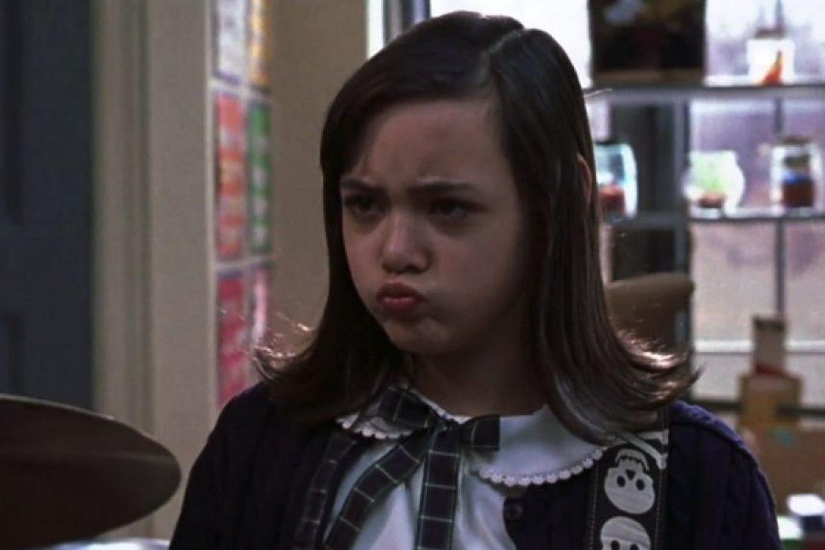 """Rebeca Brown era la encargada del bajo, también recordada como """"Katie"""". Foto:Paramount Pictures"""