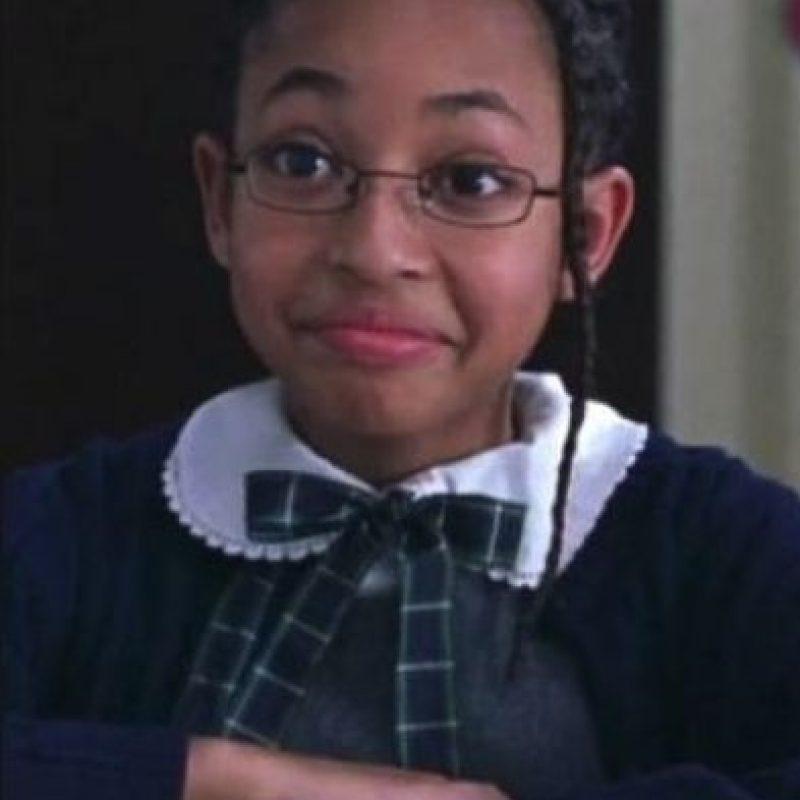 """Aleisha Allen fue """"Alicia"""", una de las voces del coro. Foto:Paramount Pictures"""