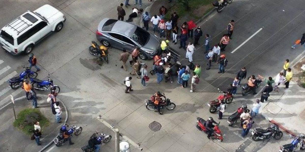 El cruce más peligroso en la avenida Reforma