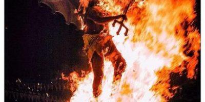 ¿Qué te parece la quema al diablo? Entérate de la tradición