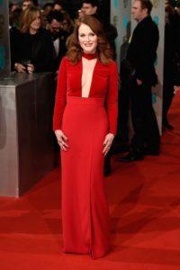Es una actriz que sabe llamar la atención en la alfombra roja. Foto:Getty Images