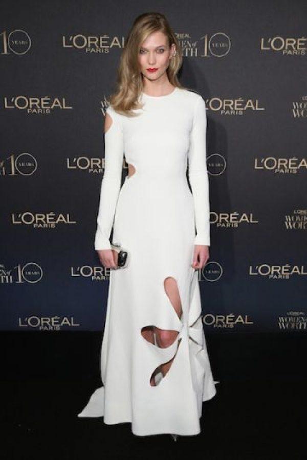Es la modelo del momento y es considerada como una de las mejor vestidas por varias revistas de moda. Foto:Getty Images