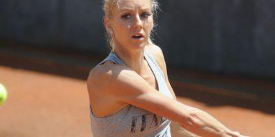 Es una tenista polaca, hermana menor de la también tenista Agnieszka Radwańska. Foto:Getty Images