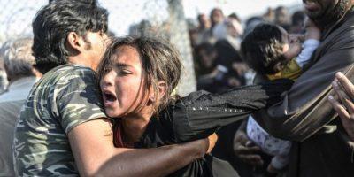 """El informe """"Alienación y Violencia: El impacto de la crisis en Siria 2014"""" de Naciones Unidas mostró el drástico cambio: Foto:AFP"""