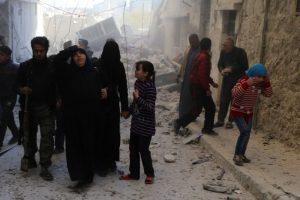 La gran mayoría huyó como refugiados a Europa, principalmente. Foto:AFP