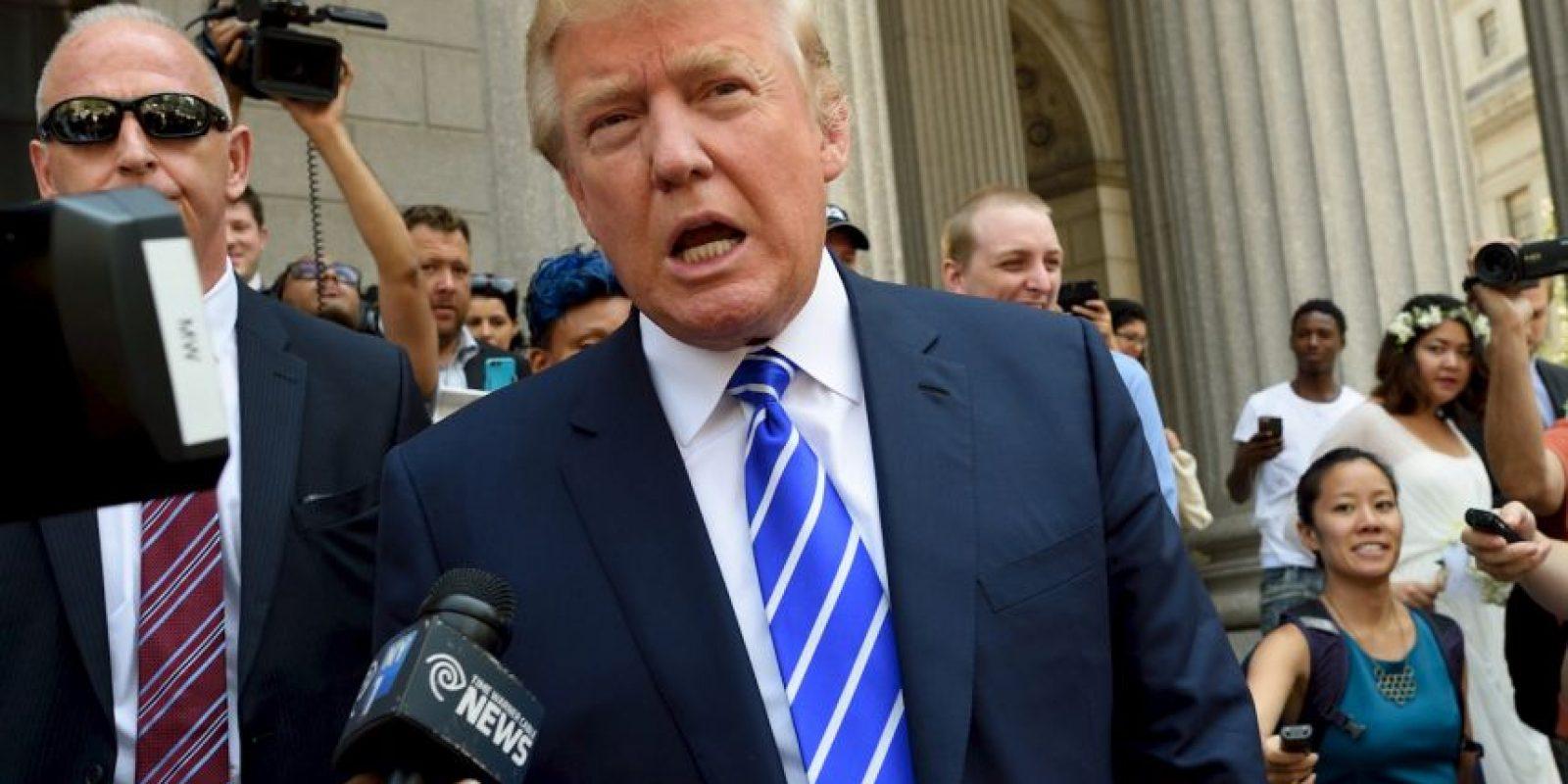 La nueva medida que quiere aplicar Trump incluye aquellos musulmanes inmigrantes. Foto:AFP