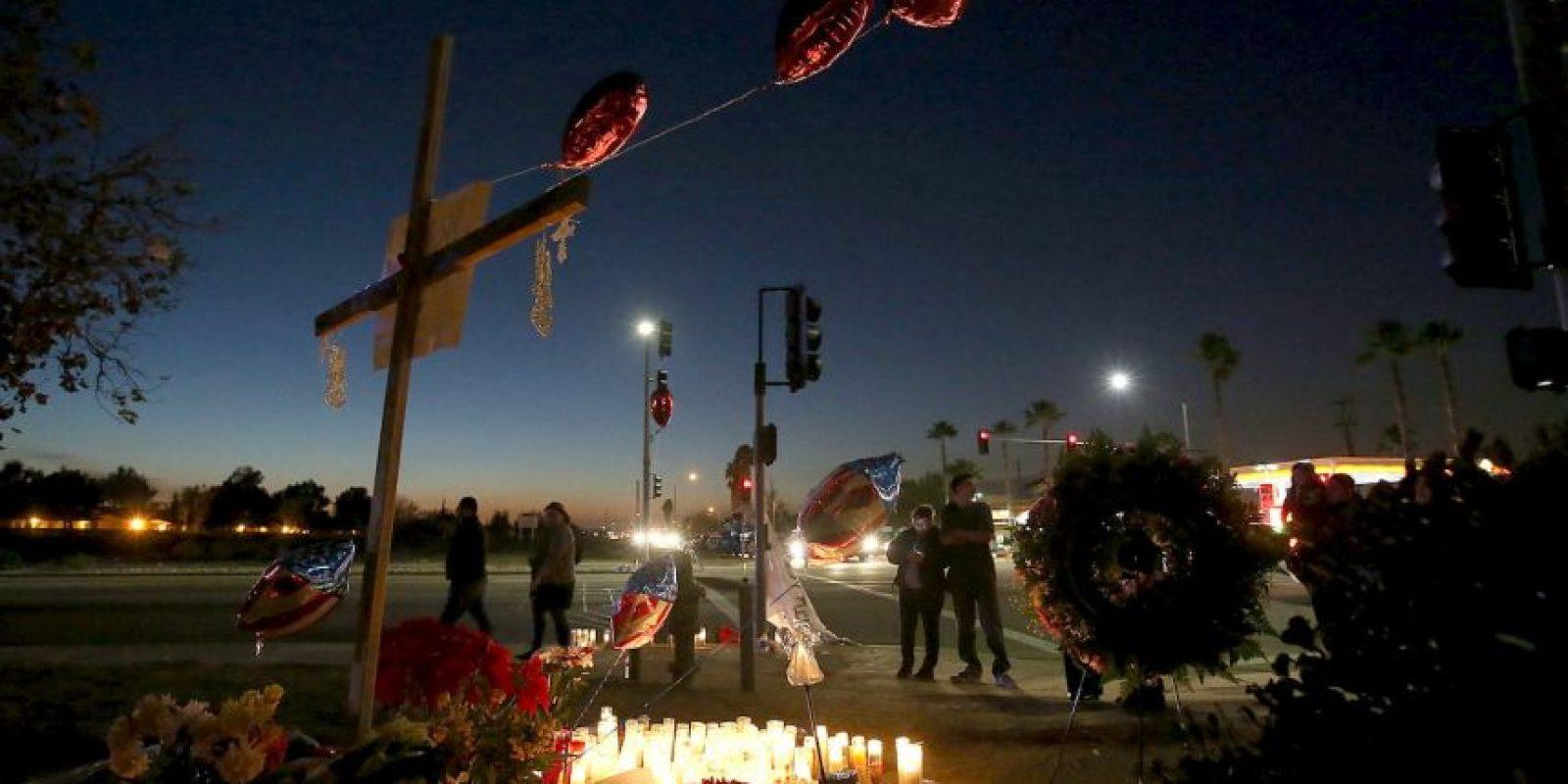 Los locales y todo el país lamentó la muerte de estas personas. Foto:AFP