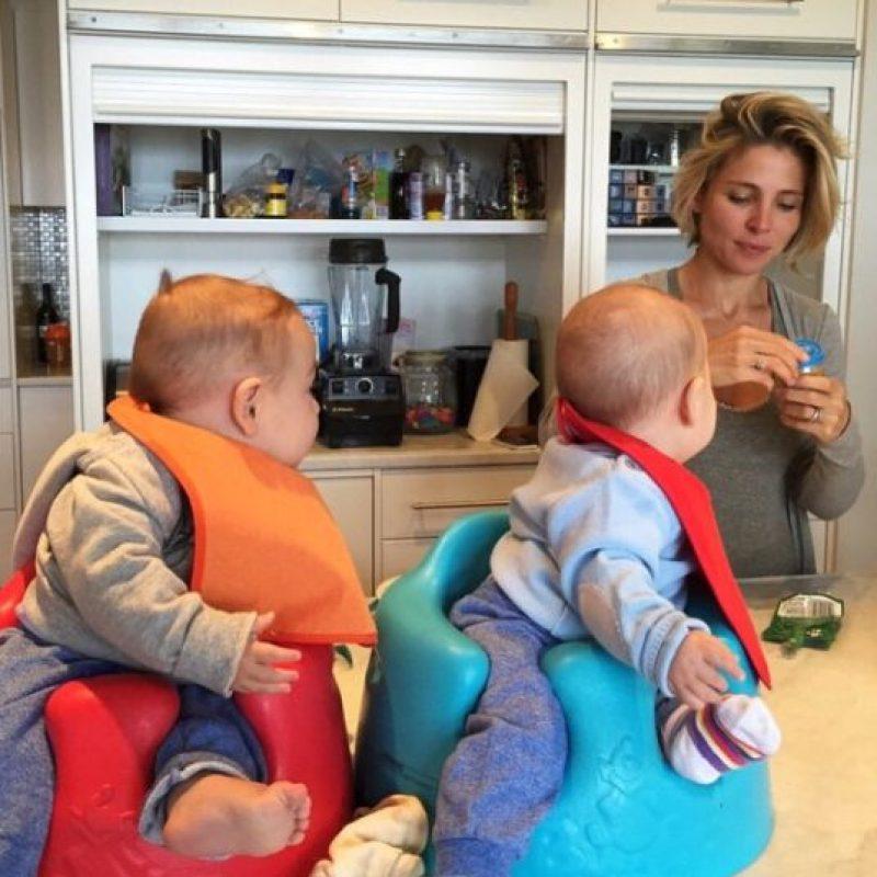Y en 2014 recibieron a sus gemelos: Tristan y Sasha Foto:vía instagram.com/elsapatakyconfidential