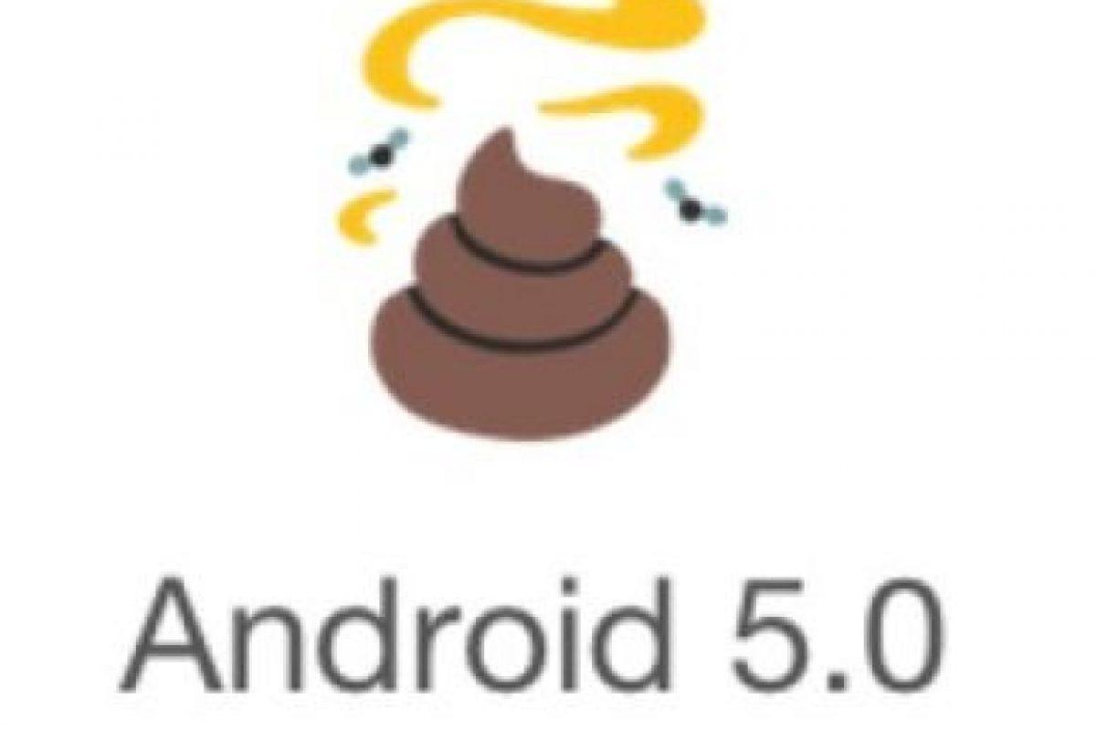 Android 5.0 Foto:vía emojipedia.org
