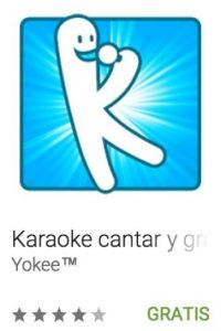 9- Karaoke cantar y grabar. Utiliza los videos de YouTube para que se diviertan mientras cantan sus canciones preferidas. Foto:vía Google