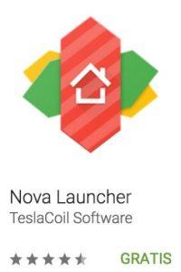 29- Nova Launcher. Es un lanzador con el que pueden reemplazar la pantalla de inicio, además de mdificar el icono, diseños, animaciones y más. Foto:vía Google