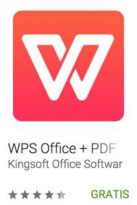 25- WPS Office + PDF. Es posible visualizar, crear y compartir documentos de Office en cualquier dispositivo Android. Foto: vía Google