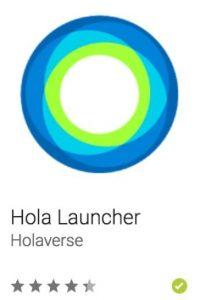38- Hola Launcher. Es un potenciador con 10 mil iconos en alta definición para que su Android esté bien optimizado y sea único. Foto:vía Google