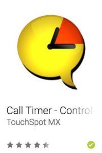 42- Call Timer – Control de Plan. Controla el uso de tu plan de Datos, Llamadas y SMS, además de dar alertas, auto colgar y remarcar en los números donde los primeros minutos son gratis. Foto:vía Google