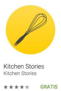 50- Kitchen Stories. Ofrece a aspirantes a chef y amantes de la cocina la oportunidad de perfeccionar sus habilidades culinarias, descubrir nuevas deliciosas recetas e inspiración. Foto:vía Google