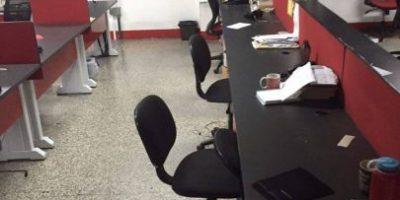 Asaltan oficinas de revista Crónica