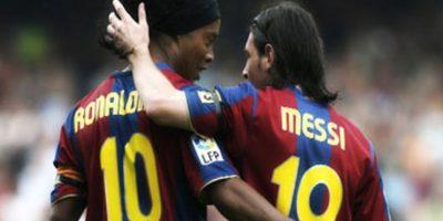 ¿Qué dice el mensaje que le envió Lionel Messi a Ronaldinho?