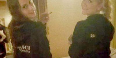 """Odom escogió a Monica Monroe y Ryder Cherry para su """"fiesta privada"""" Foto:Vía facebook.com/LoveRanchNorth"""