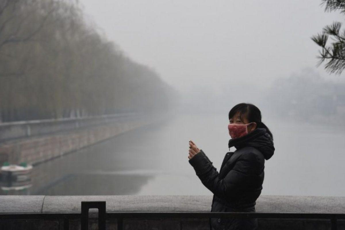 Esto, con la llegada de un frente frío, que creen podrá disipar la contaminación Foto:AFP