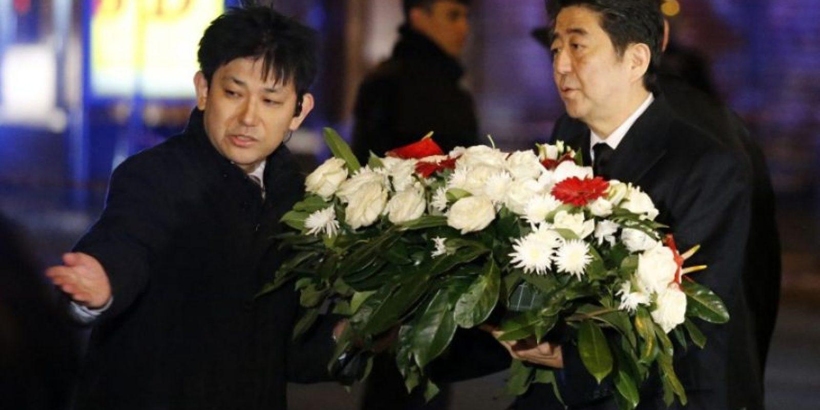 Shinzo Abe, primer ministro de Japón Foto:AFP
