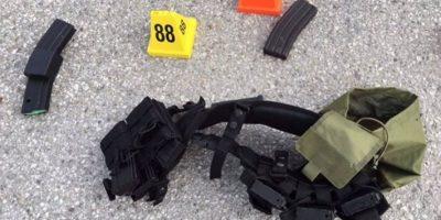 Junto a estas se encontraron cientos de municiones. Foto:AFP