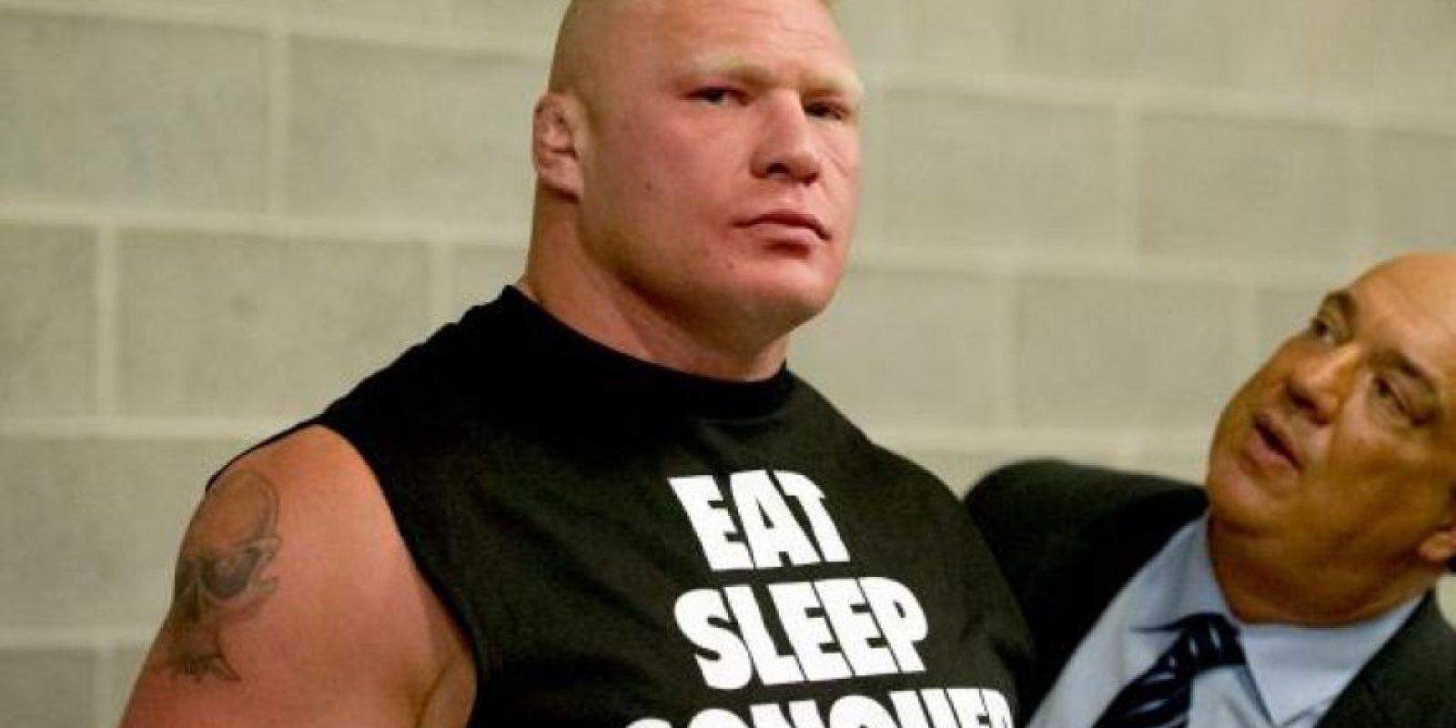2. Brock Lesnar Foto:WWE