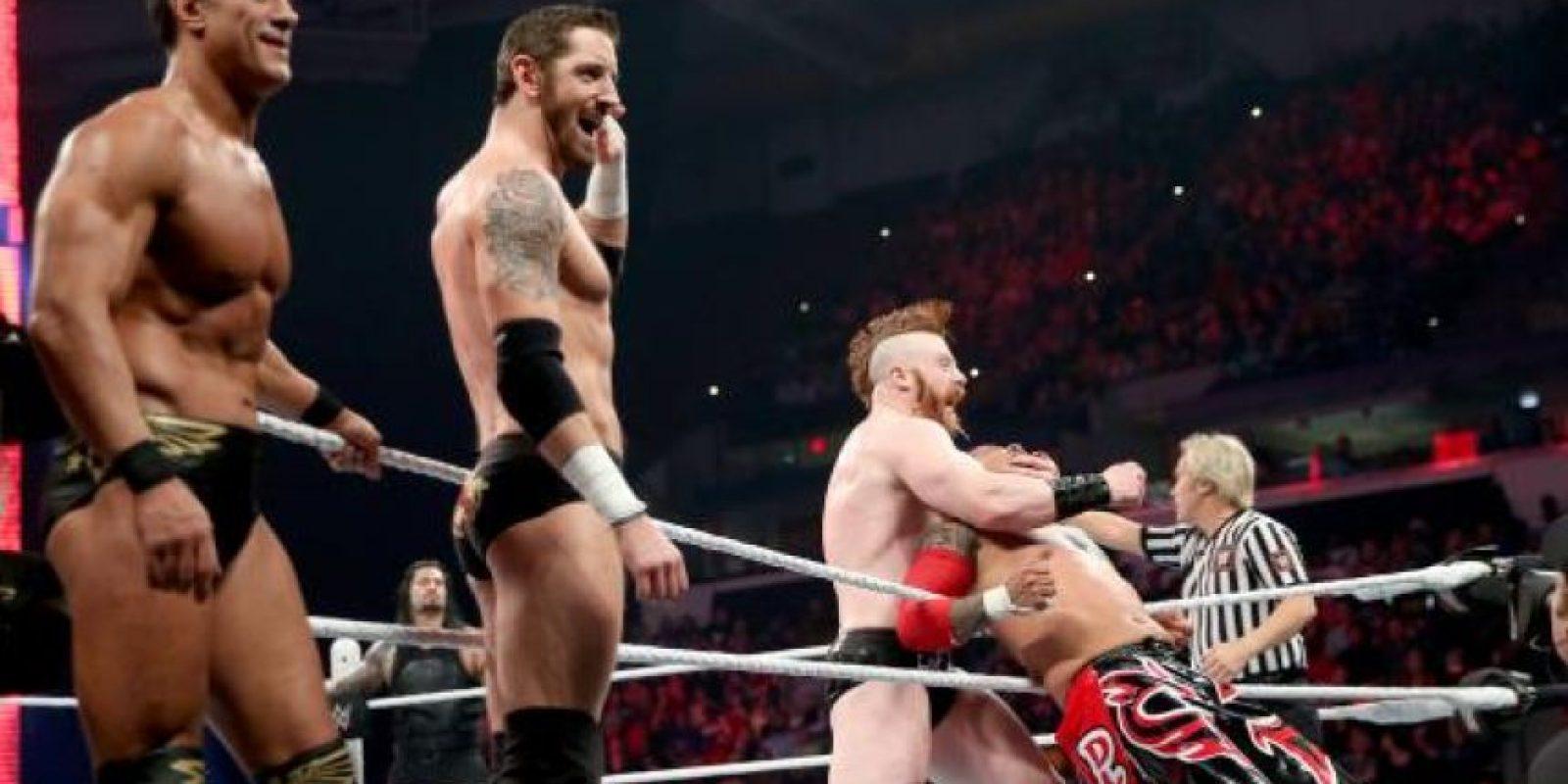 """La """"Liga de las Naciones"""" está conformada por Sheamus, Rusev, Alberto del Río y King Barret. Foto:WWE"""