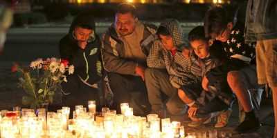 En San Bernardino y todo Estados Unidos lamentaron la muerte de estas personas. Foto:AFP