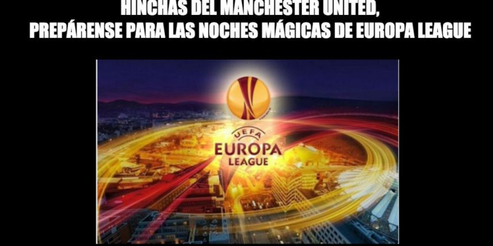 Si les sirve de consuelo, jugarán la Europa League. Foto:Vía twitter.com/troll__football